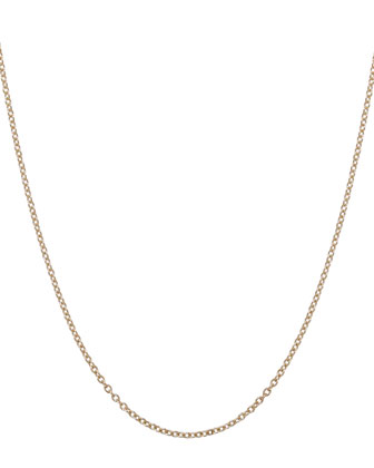1.5mm Yellow Gold Chain Necklace, 16