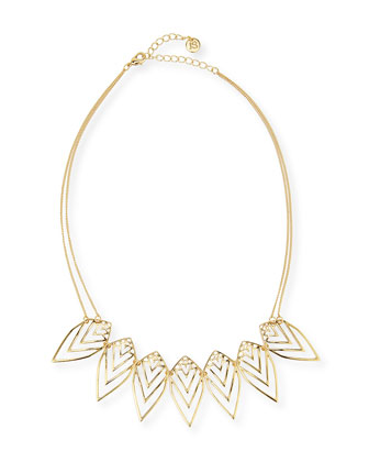Nature Two-Strand Necklace, Golden