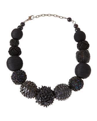 Lea Beaded Spheres Necklace