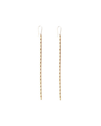 Large 14k Blake Bar Earrings