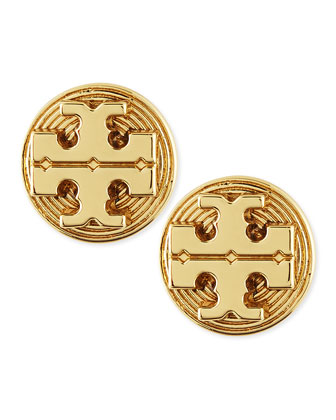 Golden Livia Stud Earrings