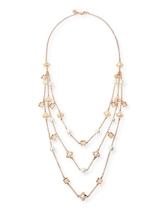 Babylon Triple-Strand Necklace