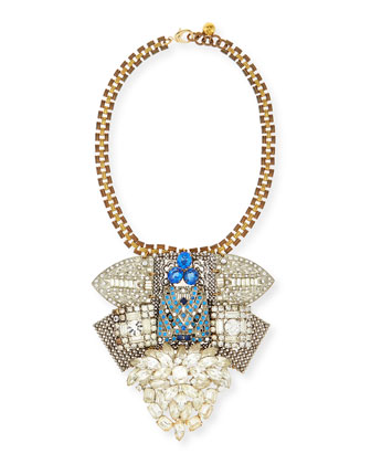 One-of-a-Kind 100 Year Necklace with Vintage Crystal Elements