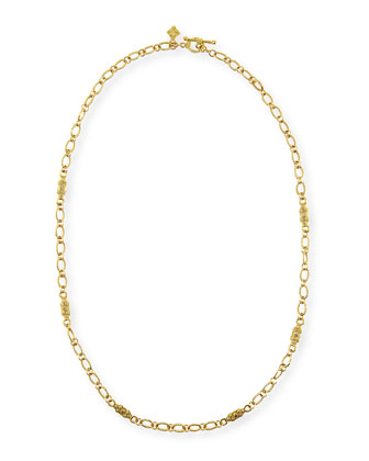Sueno 18k Gold Necklace with Diamonds