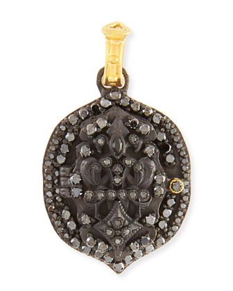 Pointed Fleur de Lis Locket Enhancer