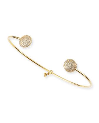 CZ Ball-Tip Bracelet