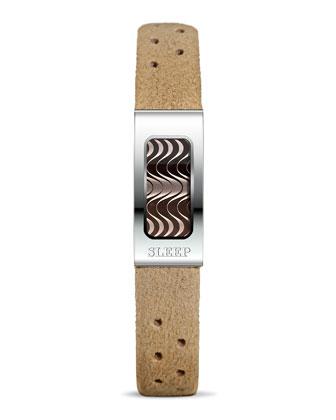 Stainless Steel Slim Sleep Bracelet