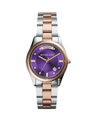 Stainless Steel Rose Golden Colette Watch