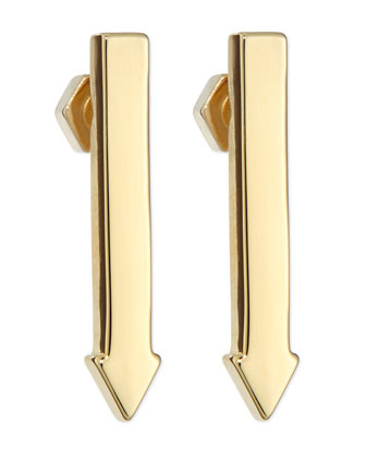 This Way Arrow Stud Earrings