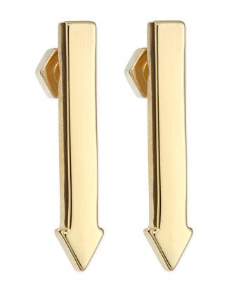 This Way Arrow Stud Earrings