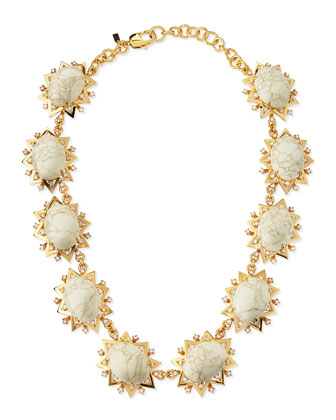 Howlite Sunshine Necklace