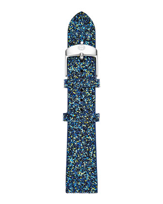 Serein Diamond Yellow Golden Watch Head & 18mm Crystal Watch Strap