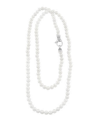 Luna Pearl Necklace, 36
