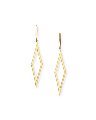 Aura Small 14k Gold Earrings
