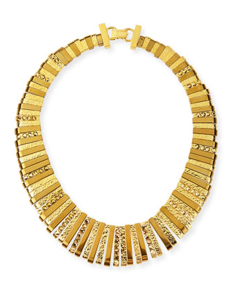 24k Gold-Plated Collar Necklace