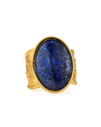 Casablanca Oval Lapis Ring