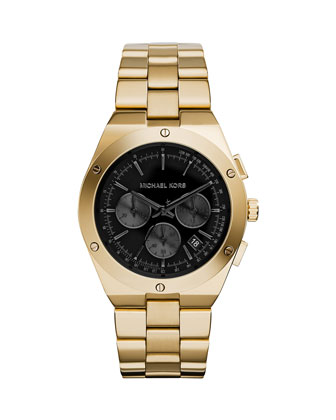 Reagan Golden Stainless Chronograph Watch