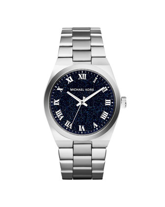 Mini Channing Silver Stainless Steel Watch