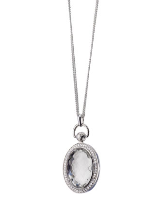 Crystal Locket Necklace, 32