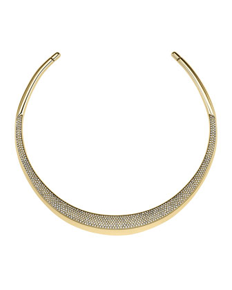 Golden Pave Statement Choker
