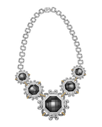Empress Hematite Doublet Necklace