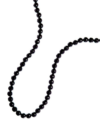Noir Onyx Beaded Necklace