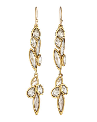 Miss Havisham Liquid Crystal Drop Earrings