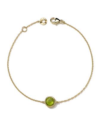 18k Gold Lollipop Bracelet