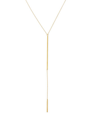 Paloma 18k Gold Vermeil Lariat Necklace