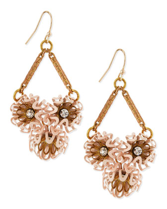 Vivien Flower Cluster Earrings