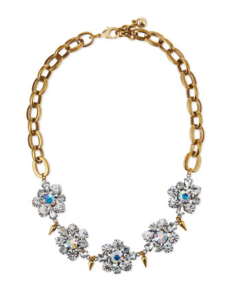 Lana Crystal Flower Necklace