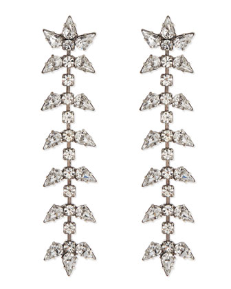 Ariel Linear Crystal Earrings