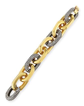 Pave Crystal Link Bracelet