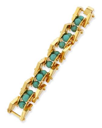 Satellite Howlite Link Bracelet