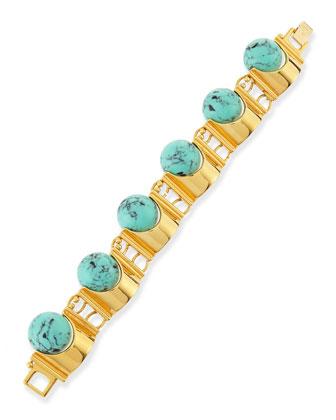 Howlite Groove Bracelet