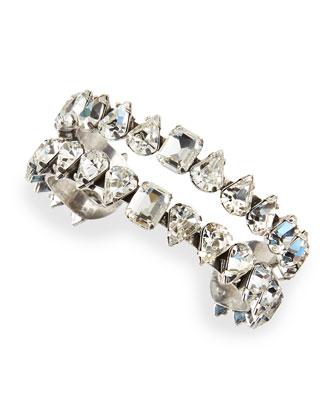 Diana Crystal Cuff Bracelet
