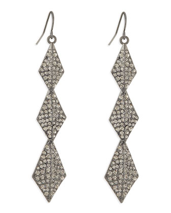 Stella Crystal Drop Earrings