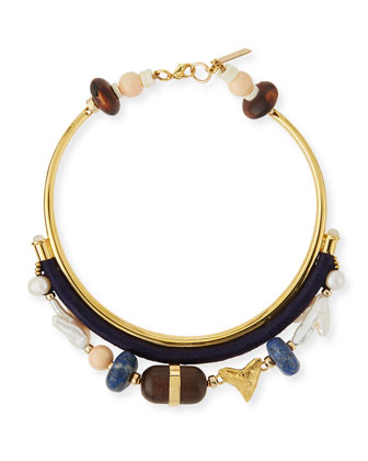 El Mar Beaded Collar Necklace