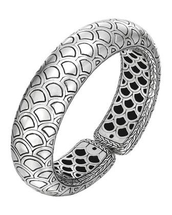 Naga Silver Bold Flex Cuff
