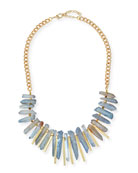 Graduated Stone Beaded Necklace
