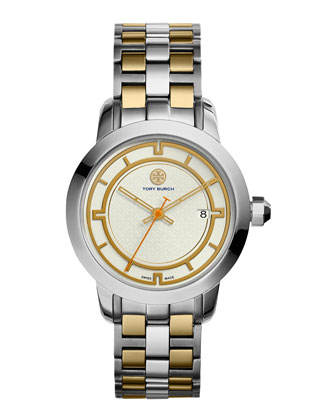 37mm Tory Two-Tone Bracelet Watch