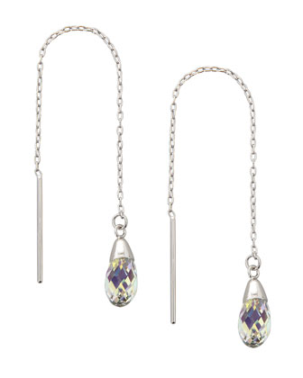 Expressions Crystal Threader Earrings