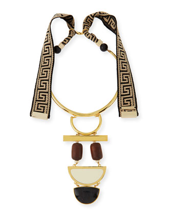 Tribal Column Necklace