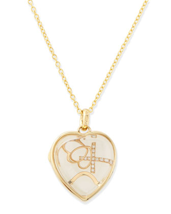 Love Charm Locket Necklace