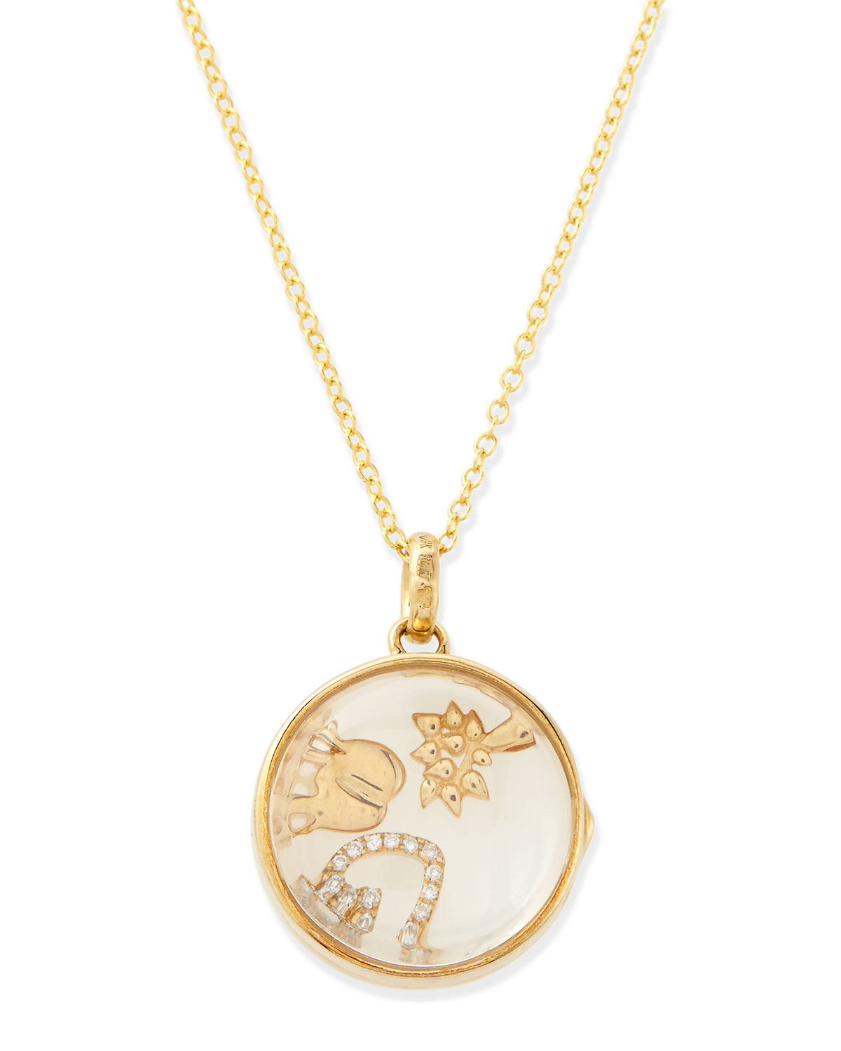 Happiness Charm Locket Necklace - Loquet London