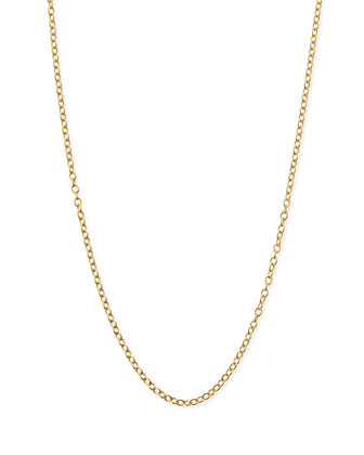 14k Gold Chain Necklace, 18