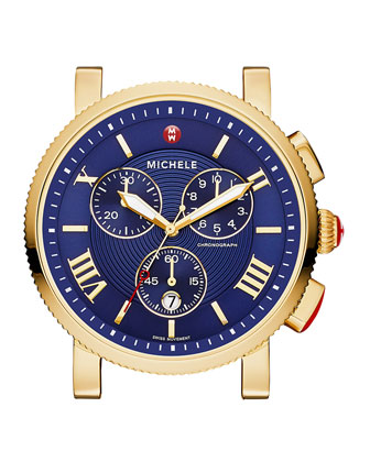 Sport Sail Gold-Plated Watch Head