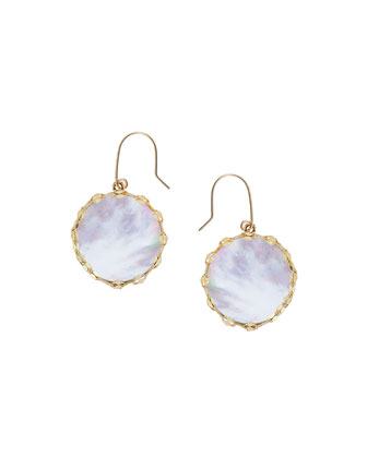 Blanca Small Mother-of-Pearl Earrings