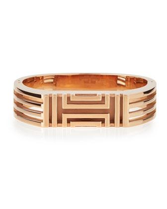 Rose Gold-Plated Fitbit-Case Bracelet