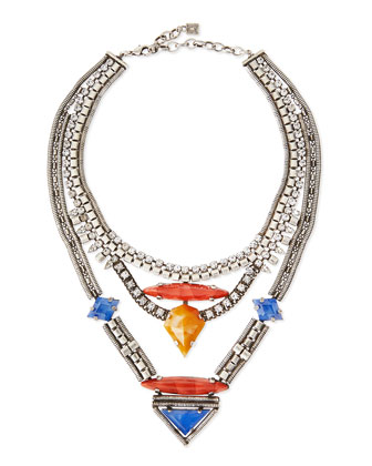 Tipton Crystal Chain Necklace